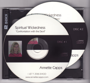 Annette Capps, Spiritual Wickedness - Overcoming Satanic Attack CDs