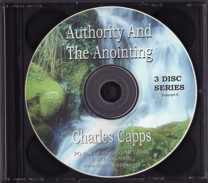Authority and the Anointing