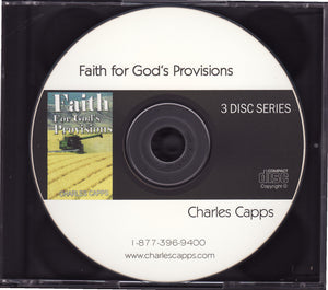 Charles Capps, Faith for God's Provisions CD