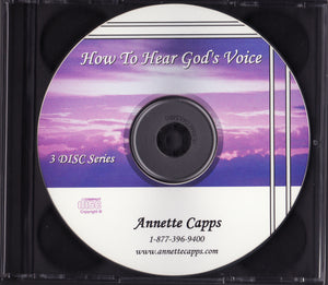 Annette Capps, How to Hear God's Voice CD