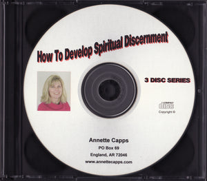 Annette Capps, How to Develop Spiritual Discernment CD