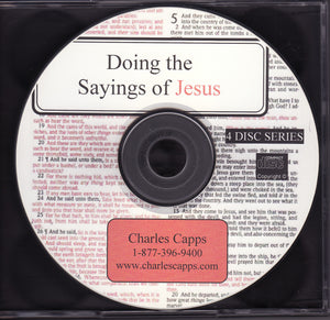 Charles Capps, Doing the Sayings of Jesus CD