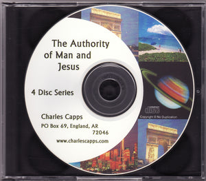 Charles Capps, The Authority of Man and Jesus