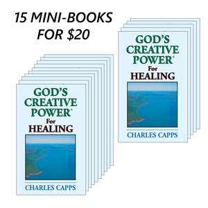 15 God's Creative Power for Healing Mini-Books