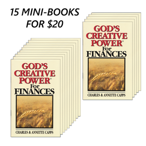15 God's Creative Power for Finances Mini-Books