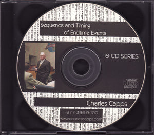 Charles Capps, Sequence & Timing of End Time Events CDs