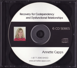 Annette Capps, Recovery for Codependency and Religious Addictions CDs