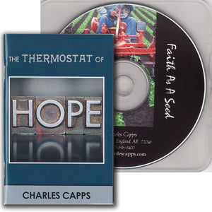The Thermostat of Hope Book and Faith as a Seed - Combo Pack - March 2020 Radio Offer