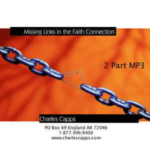 Missing Links in the Faith Connection