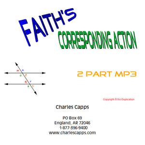 Faith's Corresponding Action