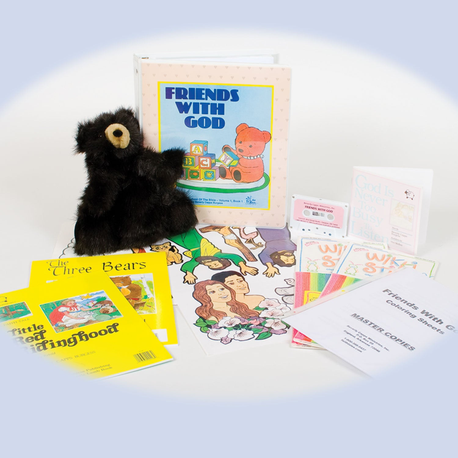 Friends with God with Gladly Bear - Sunday School/Homeschool Curriculum for  Preschoolers Ages 2 - 5