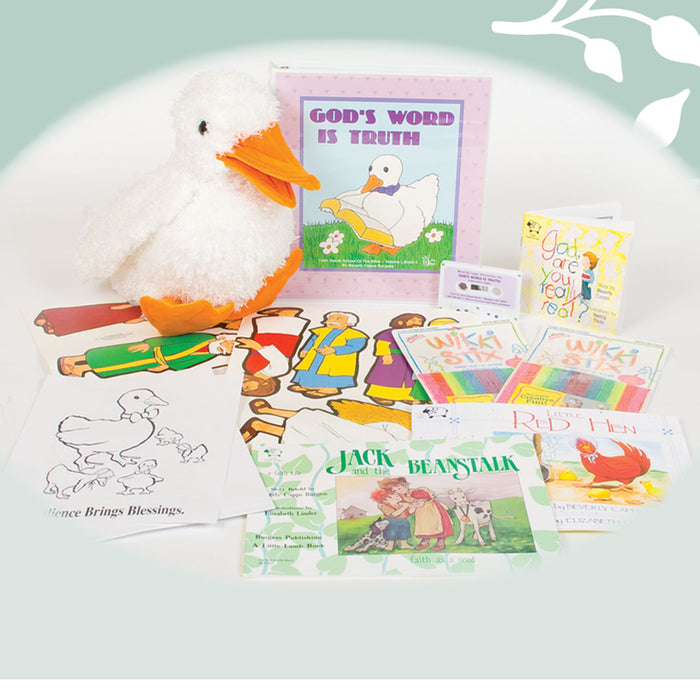 God's Word is Truth with Dandy Duck - Sunday School Curriculum for Preschoolers Ages 2 - 5