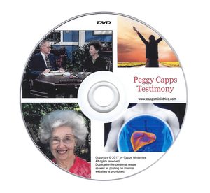 Peggy Capps Liver Transplant Testimony DVD