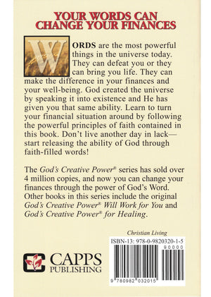 Charles Capps, God's Creative Power for Finances