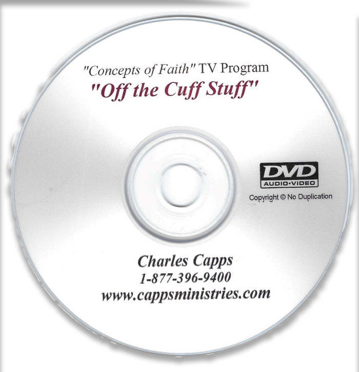 April 29th TV Offer - Off the Cuff Stuff #1