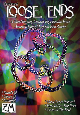 Loose Ends by John Zander DVD and Rope Set SPECIAL OFFER