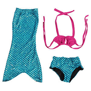 Fun in the Sun Mermaid Tail Costume - Choose from 3 Different Sets!