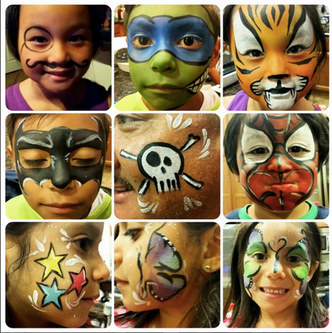 Facepainting by MaryJo - Event Entertainment