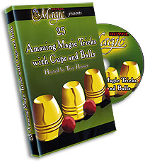 Cups and Balls DVD by Hampton Ridge