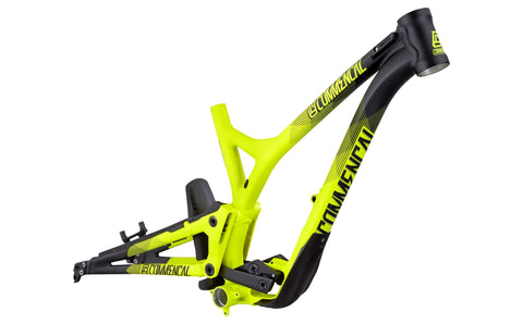 CUADRO COMMENCAL SUPREME DH 650B YELLOW 2016