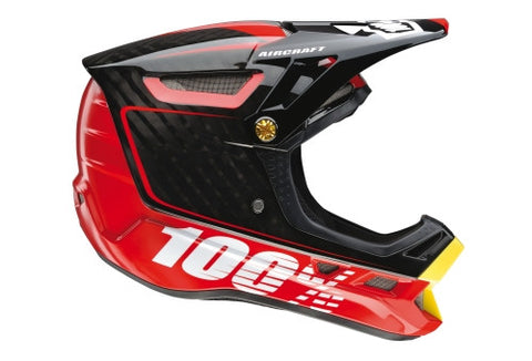 CASCO 100% AIRCRAFTBI-TURBO RED