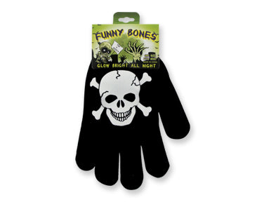 Glow in th Dark Skeleton Gloves