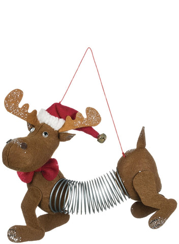 "7"" Moose Springer Ornament"