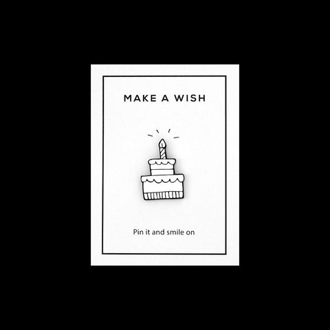 Enamel Pin - Make a Wish
