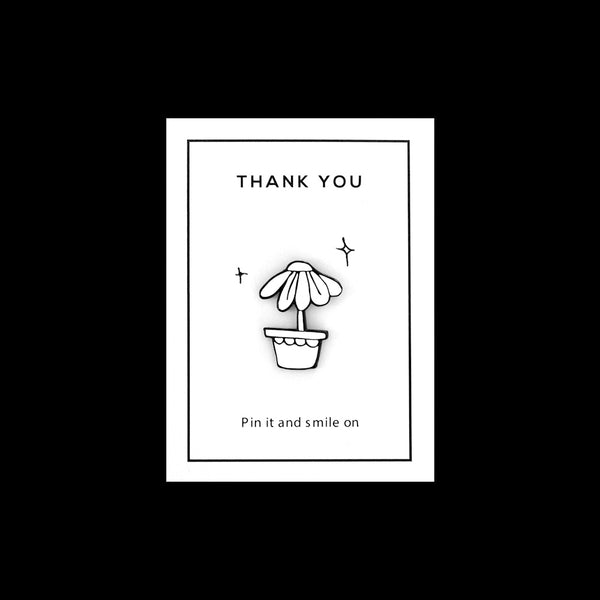 Enamel Pin - Thank You
