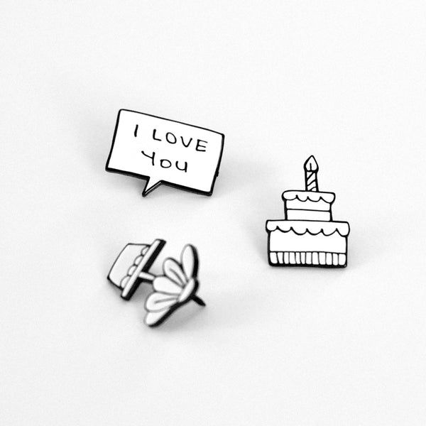 Enamel Pin - I Love You