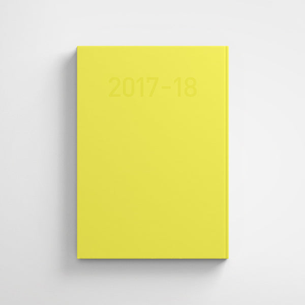 Weekly Planner - Yellow
