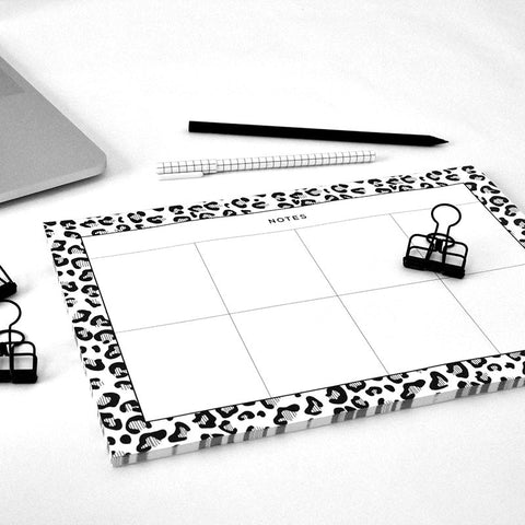 Desk Pad - Cheetah