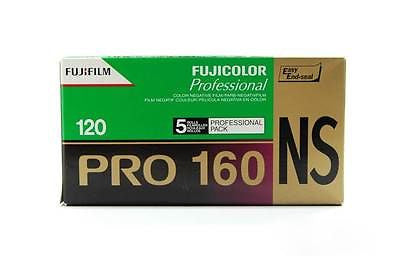 5 rolls FUJI Color Pro 160NS Film 120 Medium Format Camera Holga Lomo