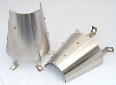 USD Brand New Tailor Made Exhaust Cover for Ferrari F360 / 430 Engine Bay 1 Pair