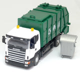 SCANIA City Garbage Waste disposal Truck toy Green 1 : 43