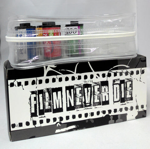 Newly Designed Transparent Zipper Plastic Soft Bag for 35mm Films