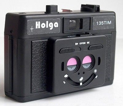 USD - HOLGA 135TIM 135 TIM black twin 3D half Camera new lomo