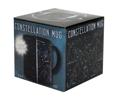 Constellation Heat Changing Mug Stars Coffee Tea 10 oz Astronomy