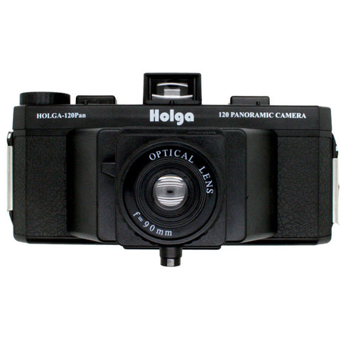 HOLGA 120PAN / 120 PAN Panoramic Camera Plastic Lens w/ 2 Hot Shoe Lomo