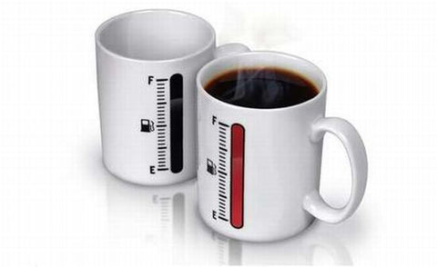 Interesting Awake Wake Up Tank Up Morning Mug Cup