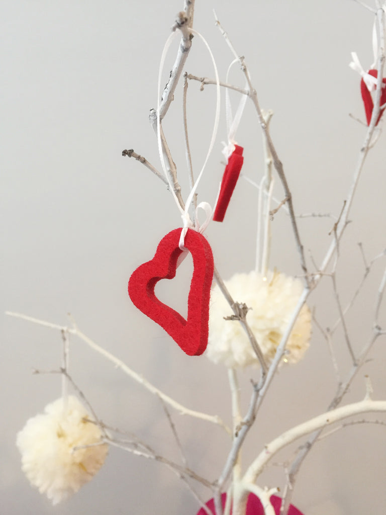 Valentine's DIY Part 2 - Basic decorating