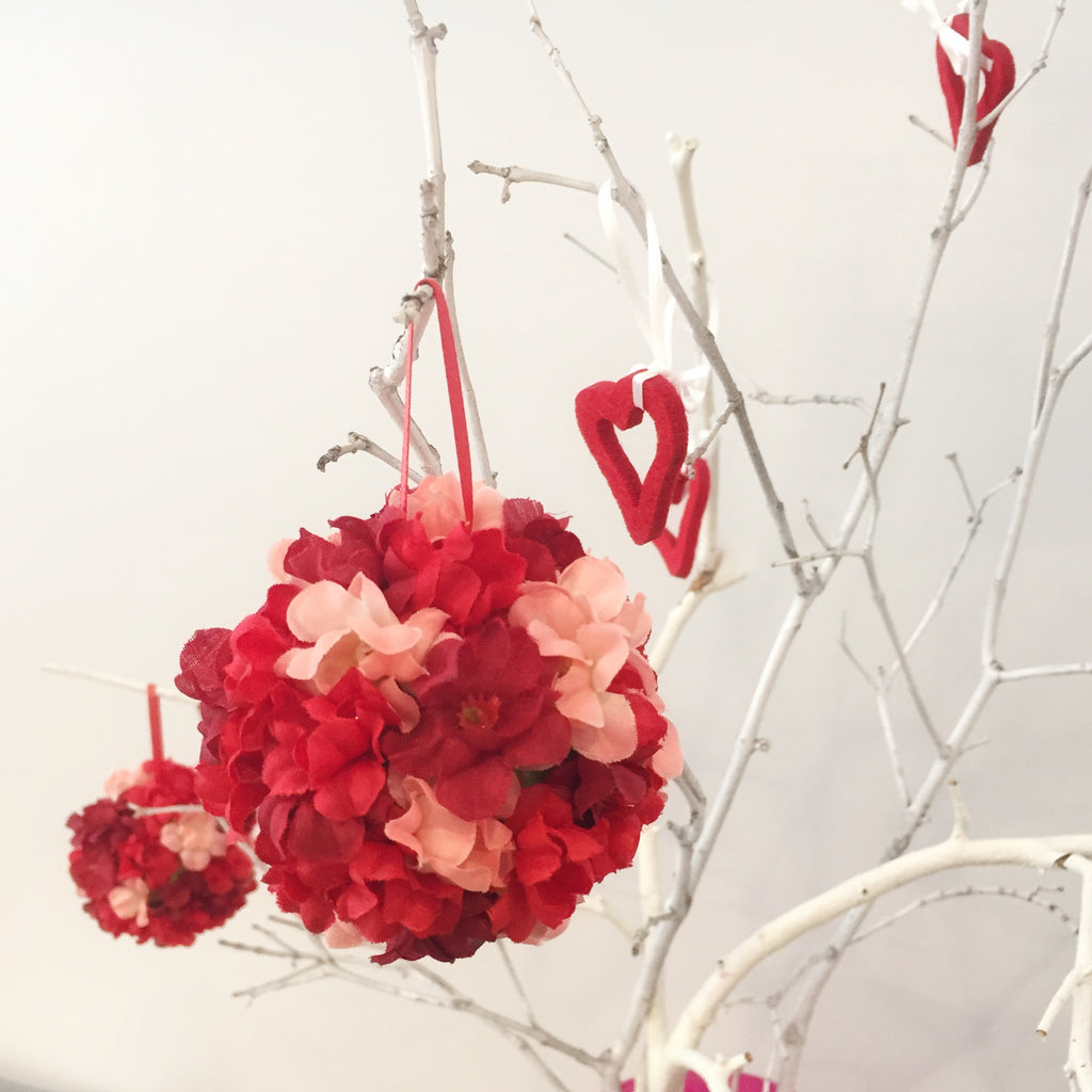Valentine's DIY Part 4 Red Pomander ornaments