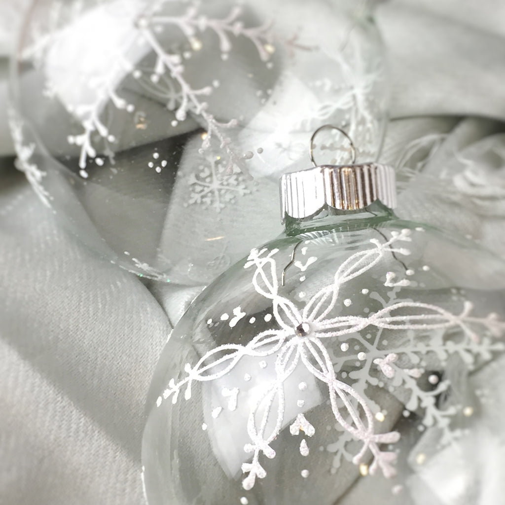 Stunning Snowflake ornaments