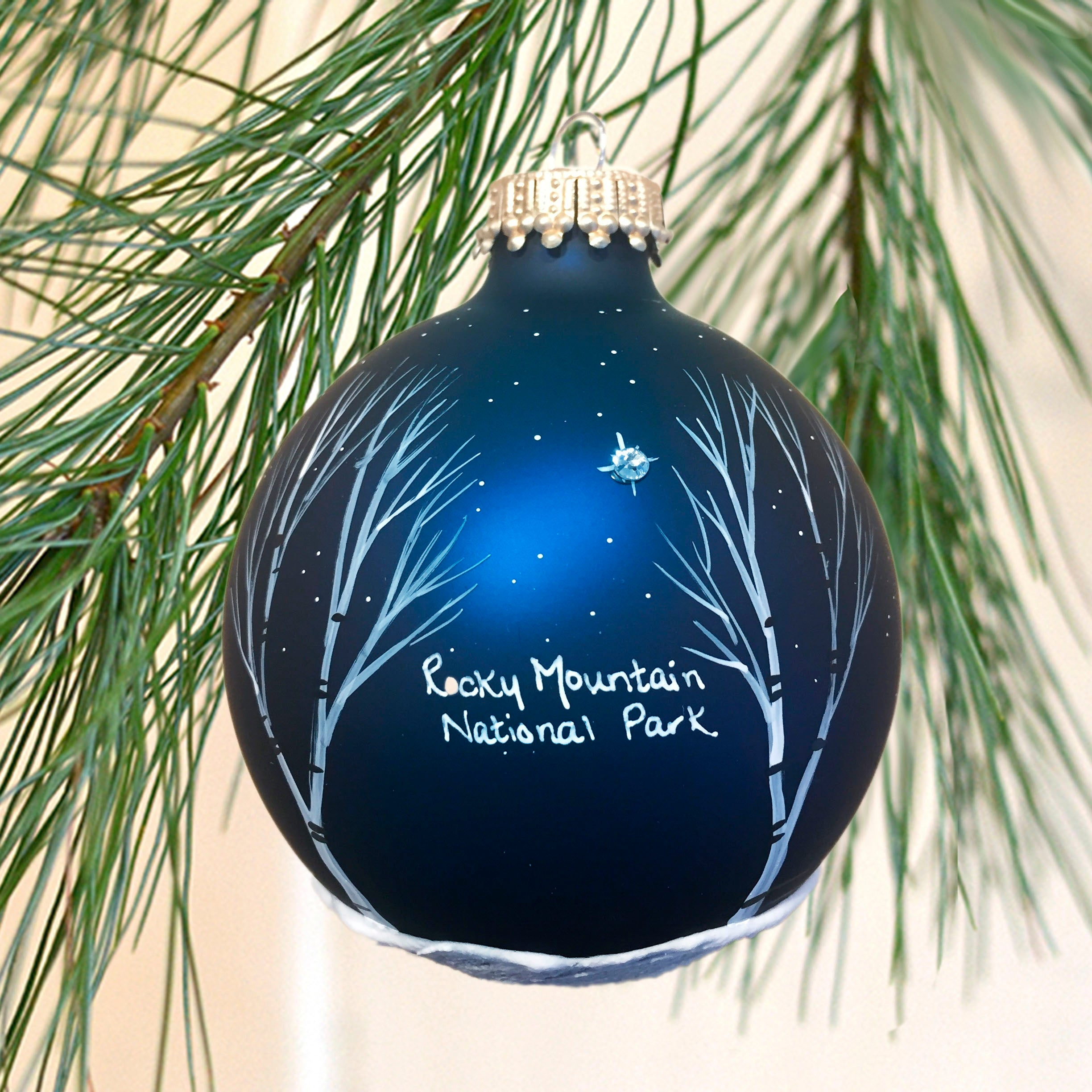 Rocky Mountain North Star Ornament