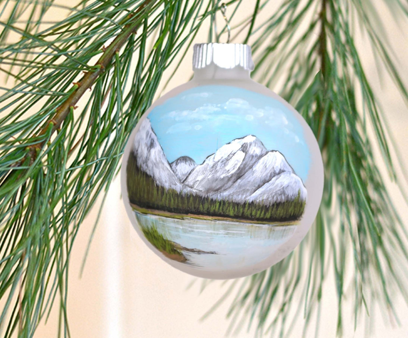 rocky mountain ornament