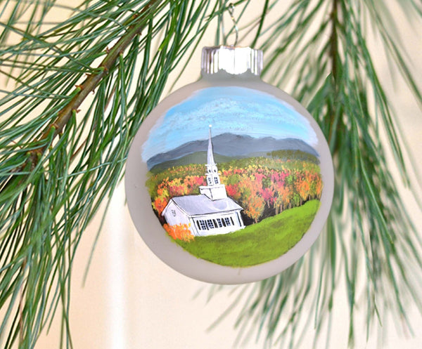 Vermont chapel ornament