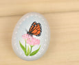 Monarch Butterfly Hand Painted Ceramic Ornament