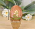 Wooden Egg Decoration Spring Garden Scene 2