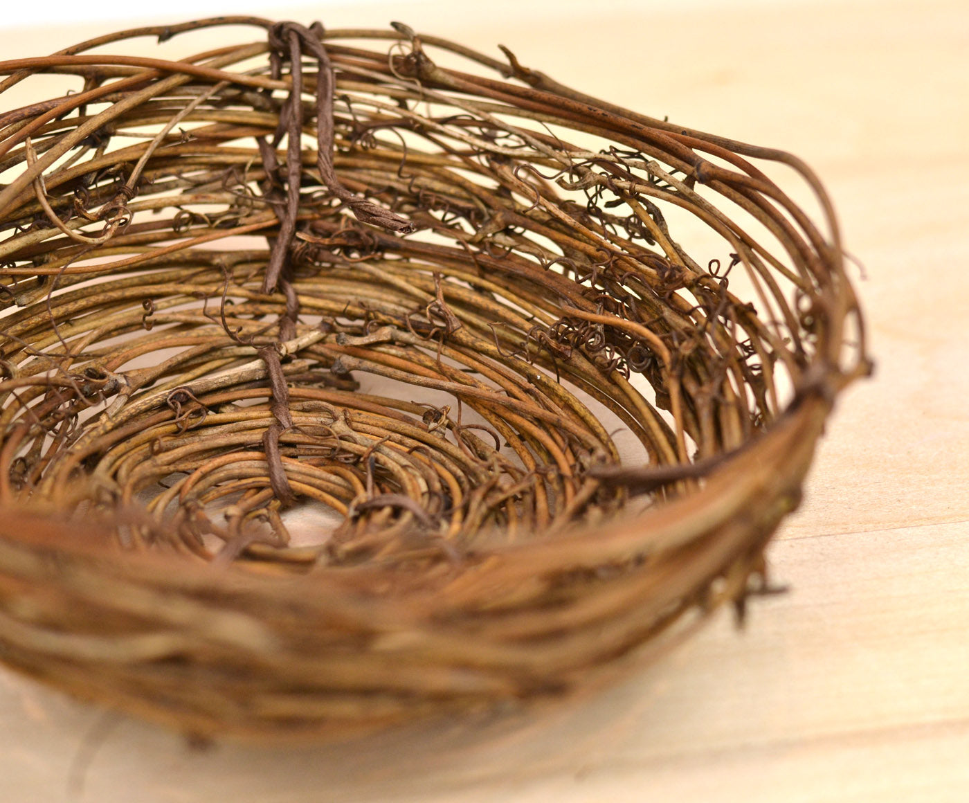 Birds Nest Easter Egg Display
