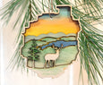Adirondack Park Deer Ornament